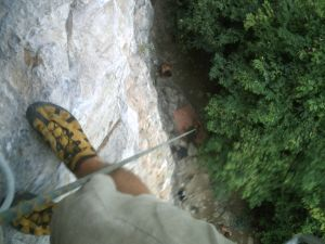 Climbing in Phi Phi