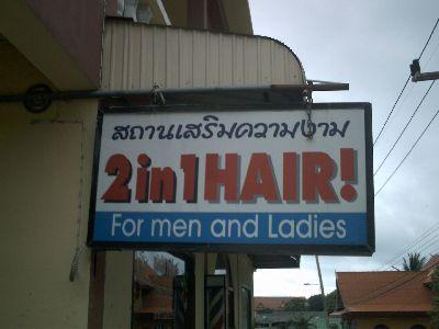 2 in 1 hair