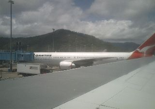 Aeroplane from Singapore