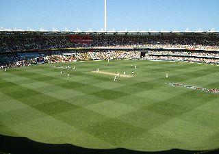 Cricket at the Gabba