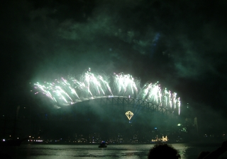 Sydney fireworks NYE 2007