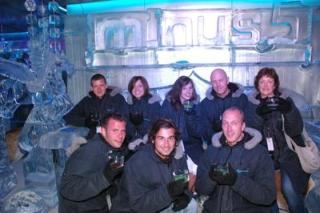 Everybody in the Ice Bar