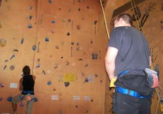 Sydney indoor climbing centre
