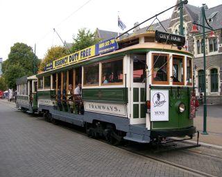 Tram in Christchurch
