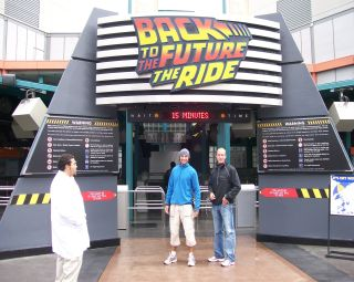 Back to the Future ride