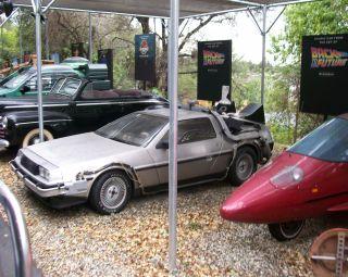 DeLorean from back to the future
