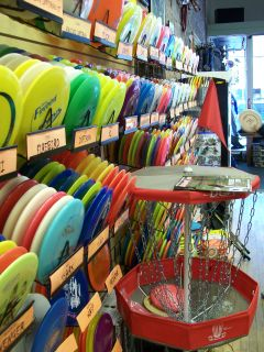 Frisbee golf shop in Flagstaff