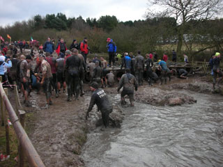 Tough Guy - The mud and tyres