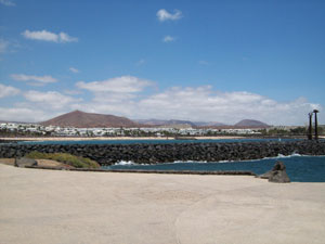 Costa Teguise sea front