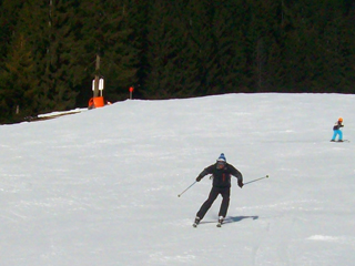 Skiing in Soll